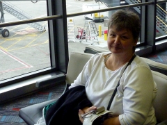 Pam, Seattle Airport
