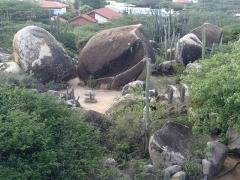 Gardens at Casabari rock