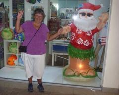 Pam and Santa