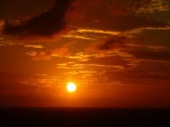 Sunset December 9
