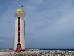 One of the many lighthouses on Bonaire