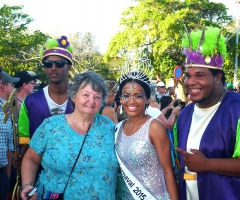 Pam and the Carnival Queen