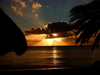 Sunset, Cas Abao