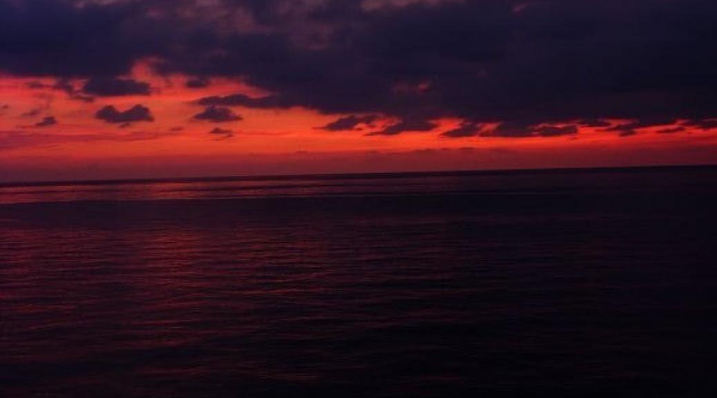 Sunset, November 19