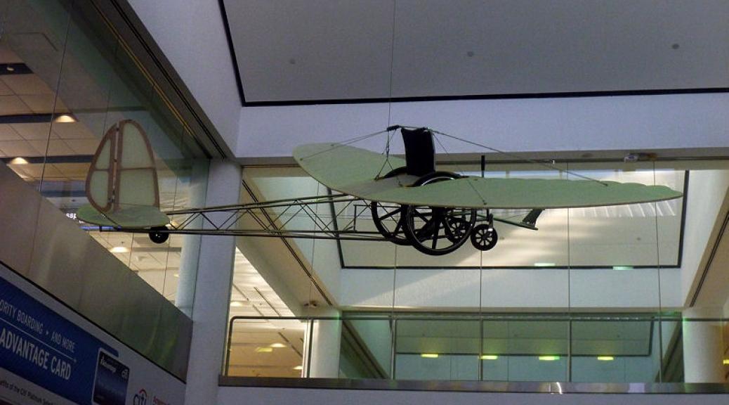 Wheelchair plane