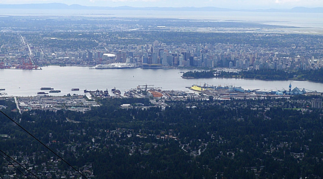 Vancouver, from Grouse Mtn
