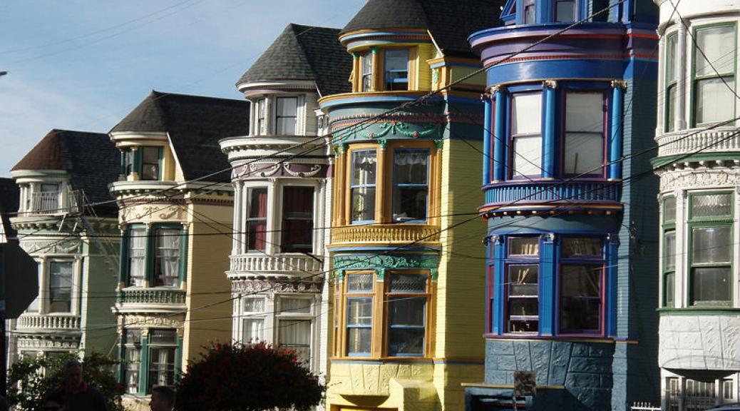 San Francisco Painted Ladies