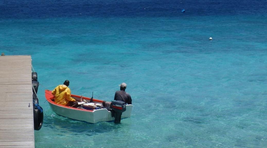 Fisherman at Kalki Beach