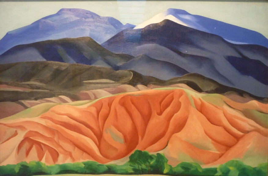 Georgia O\'Keefe painting