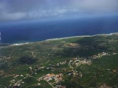 Aruba from the air