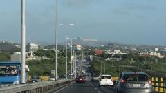 View from Queen Juliana Bridge