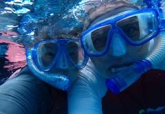 First snorkel as locals