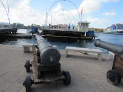 The Queen Emma pontoon bridge