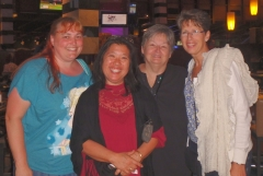 Sharman, Jeanette, Pam, Sue