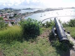 Marigot, as seen from Fort Louis