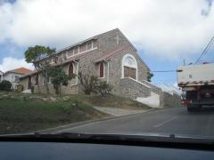 Church overlooking Belle Plaine