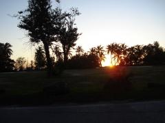 Sunset in St. Maarten