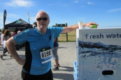 Hydrating after the race